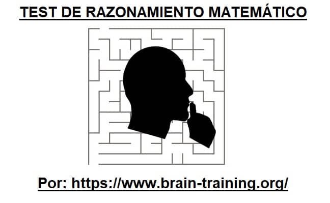 test de razonamiento matemático